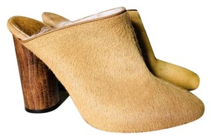 Brother Vellies camel tan Mules