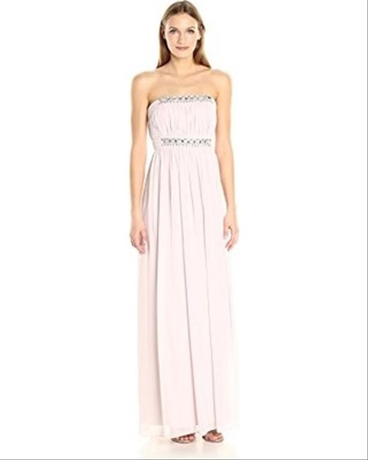 Item - Mist Chiffon Kyle Strapless Gown with Beaded Detail Formal Bridesmaid/Mob Dress Size 12 (L)