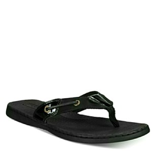 Sperry Black Sandals