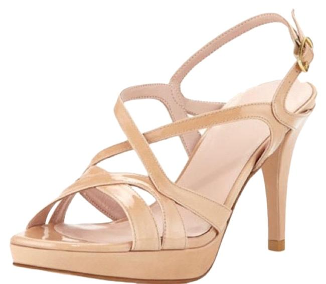 Item - Tan/ Nude Axis Strappy Sandals Size US 7 Narrow (Aa, N)
