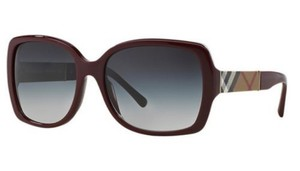 Burberry BURBERRY Sunglasses BE4160 34038G Burgundy/Bordeaux NEW!