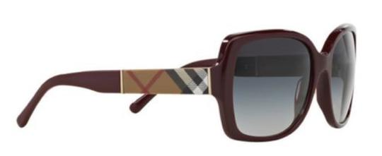 Burberry BURBERRY Sunglasses BE4160 34038G Burgundy/Bordeaux NEW! Image 3