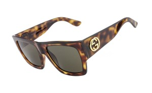 Gucci New GUCCI Sunglasses GG 3817/S VGJEJ 55-19 Havana Tortoise w/ Brown