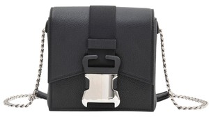 Christopher Kane Leather Safetybuckle Silver Rare Cross Body Bag