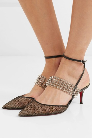 Christian Louboutin Levita 55mm Lace Pumps Image 3