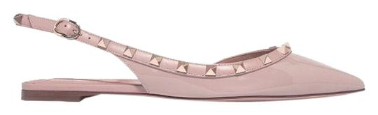 Preload https://img-static.tradesy.com/item/25718543/valentino-rockstud-patent-leather-slingback-flats-size-eu-38-approx-us-8-regular-m-b-0-1-540-540.jpg