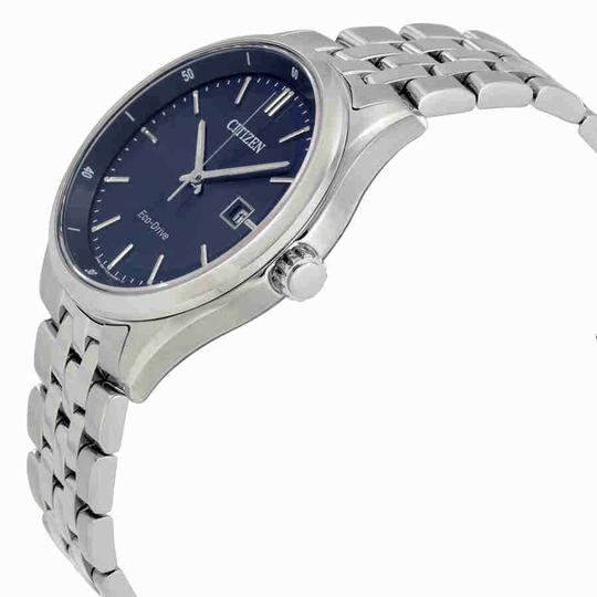 Citizen Citizen Men's Bracelet Blue Dial Eco-Drive Watch BM7251-53L Image 1