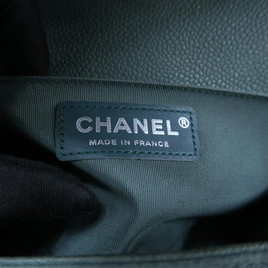 Chanel Boy Medium Caviar Shoulder Bag Image 10
