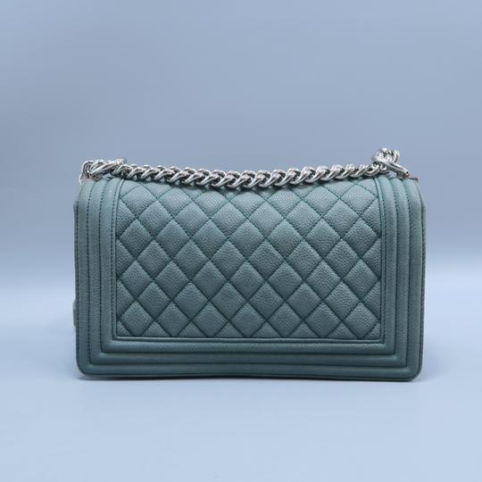 Chanel Boy Medium Caviar Shoulder Bag Image 2