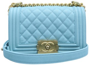 Chanel Boy Small Caviar Shoulder Bag