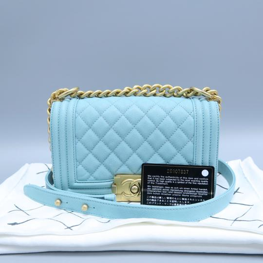Chanel Boy Small Caviar Shoulder Bag Image 1