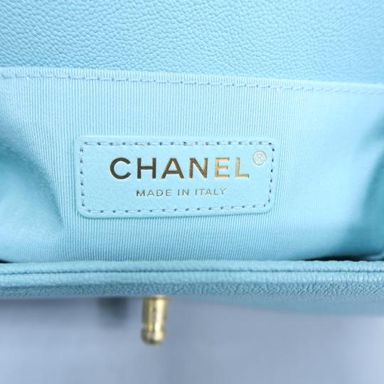 Chanel Boy Small Caviar Shoulder Bag Image 10