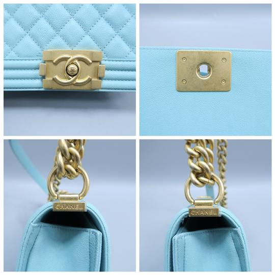 Chanel Boy Small Caviar Shoulder Bag Image 8