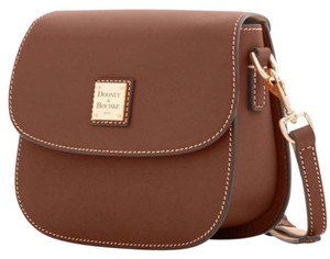 Dooney & Bourke Saddle/Gold Messenger Bag