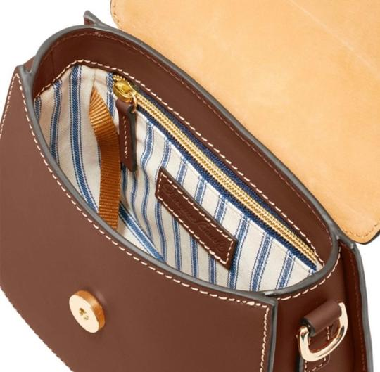 Dooney & Bourke Saddle/Gold Messenger Bag Image 2