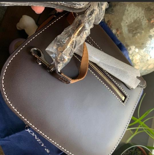 Dooney & Bourke Saddle/Gold Messenger Bag Image 3