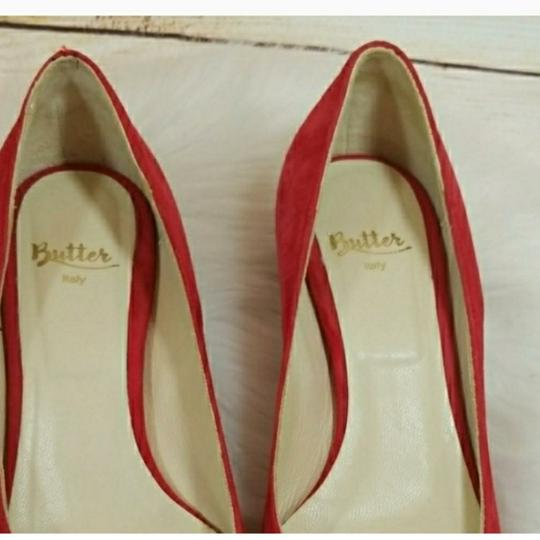 Butter red Flats Image 3