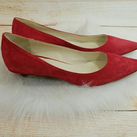 Butter red Flats Image 9