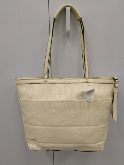 Coach 1941 19198 Tote in Ivory Image 1