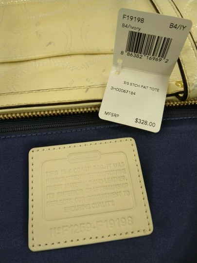 Coach 1941 19198 Tote in Ivory Image 11
