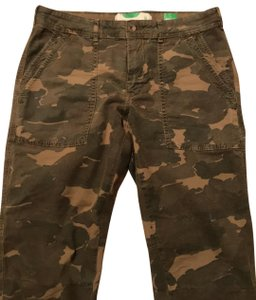 Anthropologie Relaxed Pants camouflage