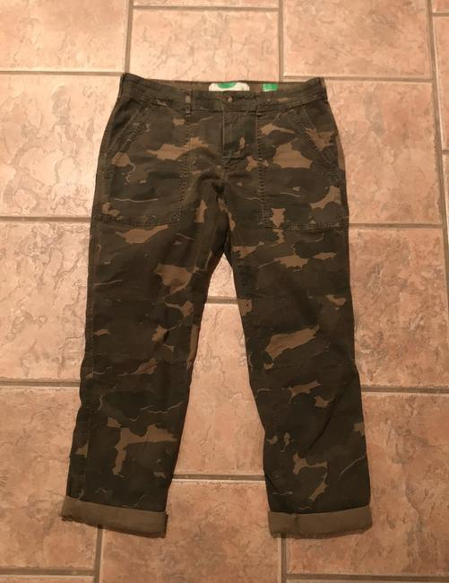 Anthropologie Relaxed Pants camouflage Image 1