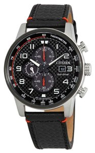 Citizen Citizen Men's Primo Chronograph Black Watch CA0681-03E