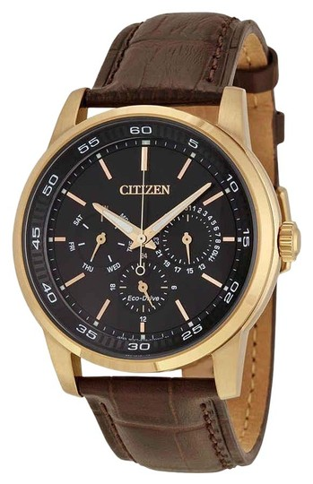 Preload https://img-static.tradesy.com/item/25718797/citizen-blackbrown-men-s-dress-eco-drive-dial-leather-bu2013-08e-watch-0-1-540-540.jpg