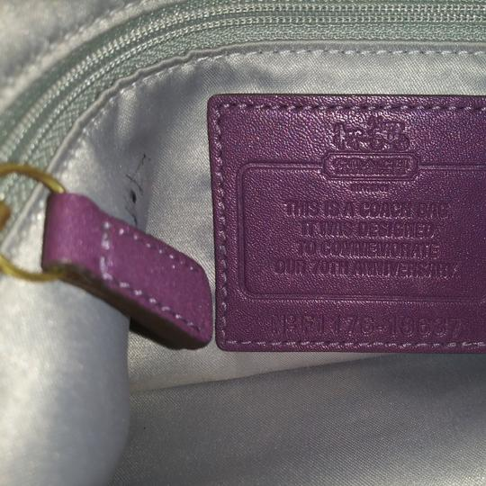 Coach Tote in Purple Image 2