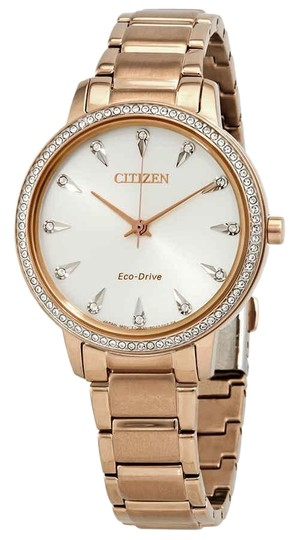 Preload https://img-static.tradesy.com/item/25718866/citizen-silverrose-gold-women-s-silhouette-crystal-fe7043-55a-watch-0-1-540-540.jpg