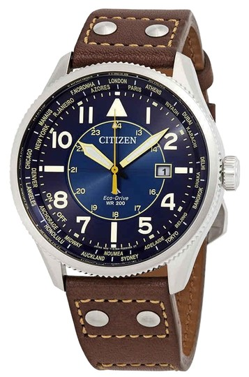 Preload https://img-static.tradesy.com/item/25718910/citizen-bluecoffee-brown-men-s-promaster-nighthawk-eco-drive-dial-bx1010-11l-watch-0-1-540-540.jpg