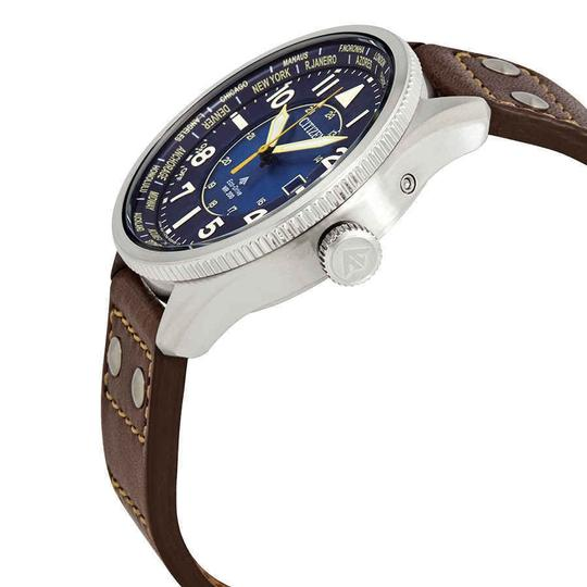 Citizen Citizen Men's Promaster Nighthawk Eco-Drive Blue Dial BX1010-11L Image 1