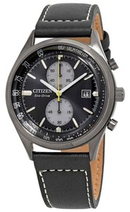 Citizen Citizen Men's Chandler Chronograph Black Dial Watch CA7027-08E