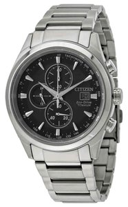 Citizen Citizen Men's Chandler Chronograph Black Dial Watch CA0650-58E