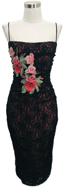 Preload https://img-static.tradesy.com/item/25719024/betsey-johnson-black-n570-vintage-14-large-lace-floral-mid-length-night-out-dress-size-12-l-0-1-650-650.jpg