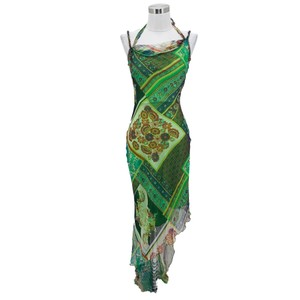 Green Maxi Dress by Cache