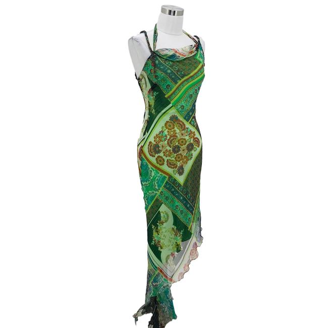 Green Maxi Dress by Cache Image 1