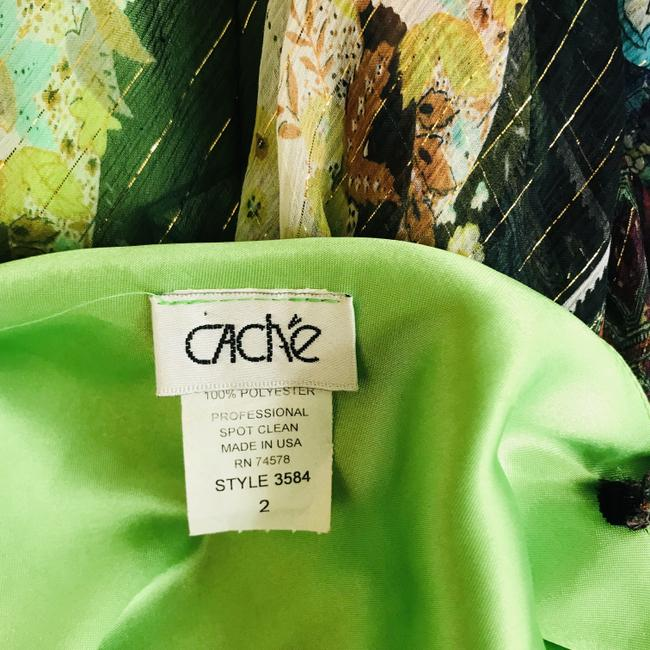 Green Maxi Dress by Cache Image 5