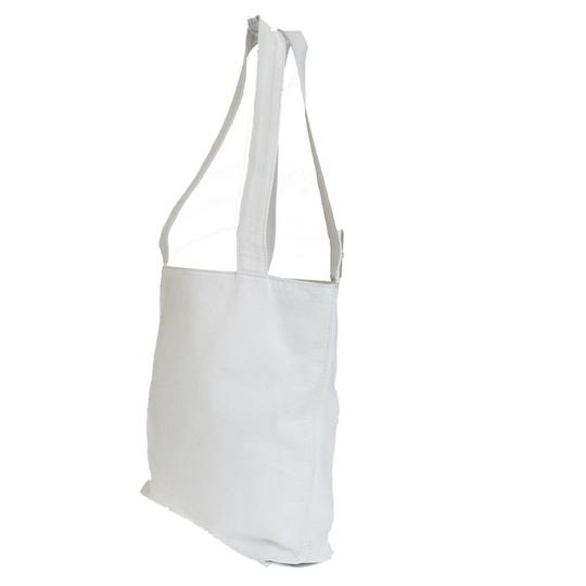 Chanel Made In Italy Tote in White Image 1