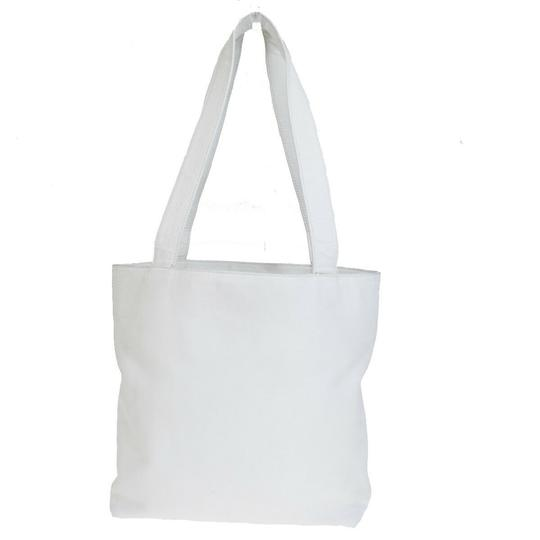 Chanel Made In Italy Tote in White Image 2