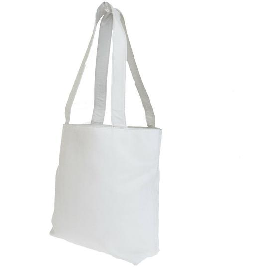 Chanel Made In Italy Tote in White Image 3