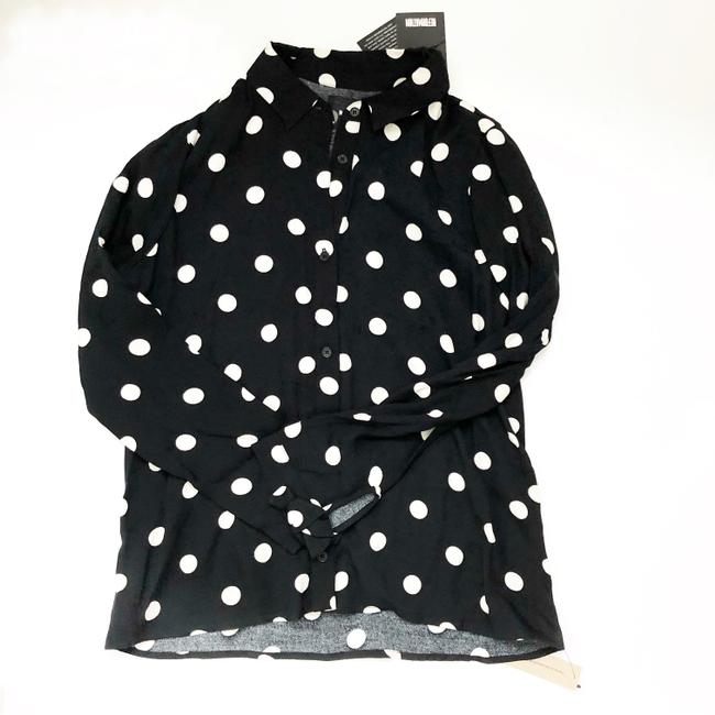 Reformation Button Down Shirt black Image 1