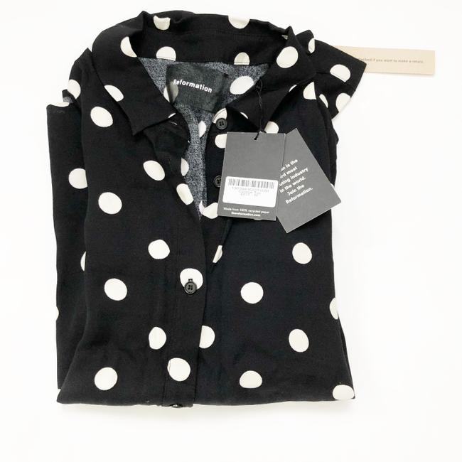 Reformation Button Down Shirt black Image 2
