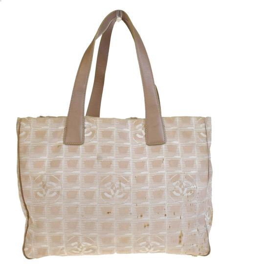 Chanel Made In Italy Tote in Beige Image 3