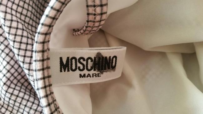 Moschino Moschino Sz 36L Bathing Suit 3D Flowers Small Gingham Print Image 6