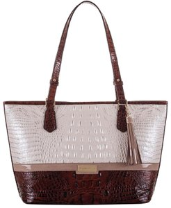 Brahmin Tote in Toasted Macaroon
