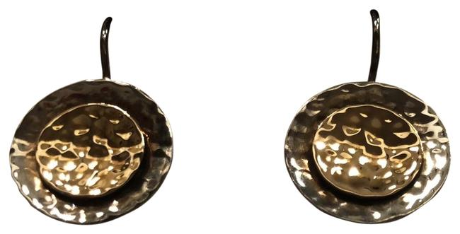 Item - Silver and Gold W1367 Earrings