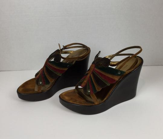 Dolce&Gabbana Brown Wedges Image 2