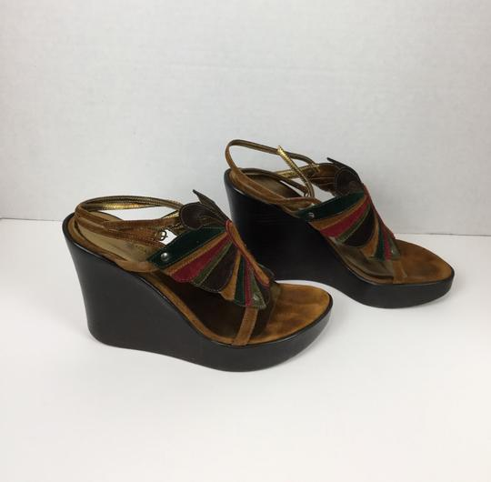 Dolce&Gabbana Brown Wedges Image 3