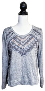 Miss Me Aztec Longsleeve Soft Boho Sweater